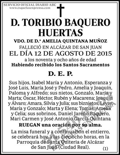 Toribio Baquero Huertas